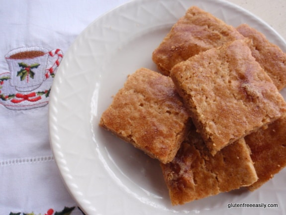 Gluten-Free Nutmeg Shortbread Stack Gluten Free Easily