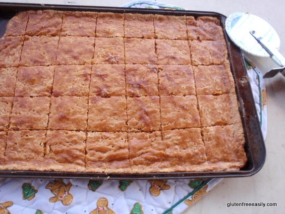 gluten free, dairy free, shortbread, cookies, bars, Stephanie O'Dea, More Make It Fast Cook It Slow, Totally Together Journal, Wheat Belly, home for the holidays