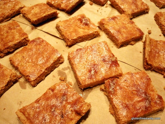 Gluten-Free Nutmeg Shortbread Cooling (Gluten Free Easily)