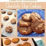 """Toasted Coconut Chocolate Chip """"Samoa""""-Taste Cookies"""