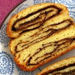 Home for the Holidays: Brittany of Real Sustenance with Cinnamon Chocolate Babka Bread & Giveaways