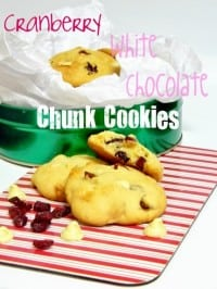 Cranberry White Chocolate Cookies Z Cup of Tea