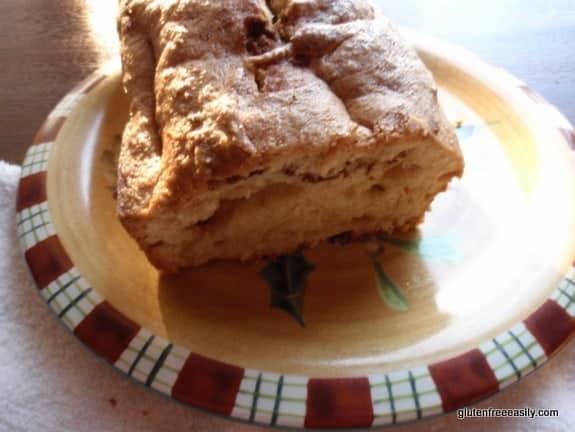 Cinnamon Swirl Coffee Cake from Gluten Free Easily