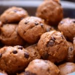 Home for the Holidays: Stephanie of Gluten Free By Nature with Pumpkin Chocolate Chip Cookies & 3 Cookbooks