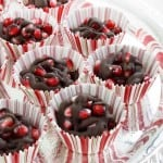 Home for the Holidays: Lexie of Lexie's Kitchen with Chocolate Pomegranate Clusters & Another Fab Giveaway