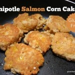 Chipotle Salmon Corn Cakes