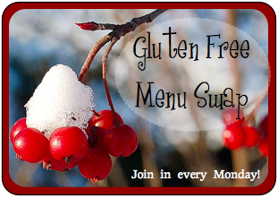 gluten-free recipes, gluten-free menus, menu swap