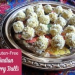 Gluten-Free Indian Chicken Curry Balls. These tasty bites make a wonderful appetizer! [from GlutenFreeEasily.com]