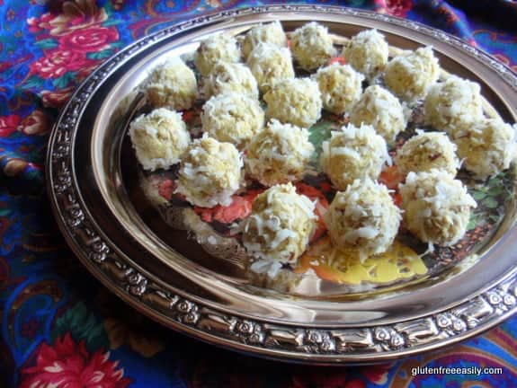 Gluten-Free Indian Chicken Curry Balls