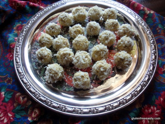 Indian Curry Balls at Gluten Free Easily