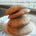 Almond Coffee Chocolate Chip Cookies (Grain Free)