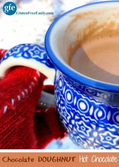 Gluten-Free Dairy-Free Chocolate Doughnut Hot Chocolate Gluten Free Easily