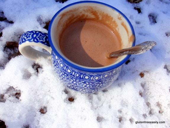 Mug Chocolate Doughnut Hot Chocolate Gluten Free Easily (Gluten Free, Dairy Free