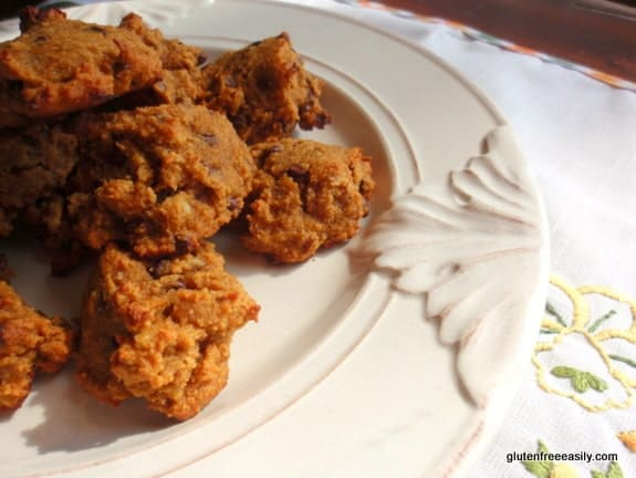 Gluten-Free, Grain-Free Honey Pumpkin Chocolate Chip Cookies at Gluten Free Easily