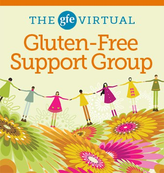 GFE Virtual Gluten-Free Support Group, support group, gluten free