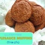 Gluten-Free Applesauce Muffins