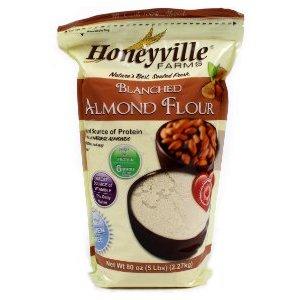 gluten free, dairy free, almond flour, Honeyville, blanched almond flour
