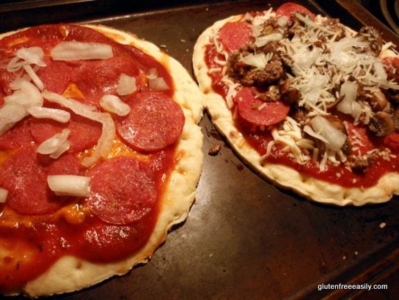 gluten freee, dairy free, pizza crust, thin crust pizza