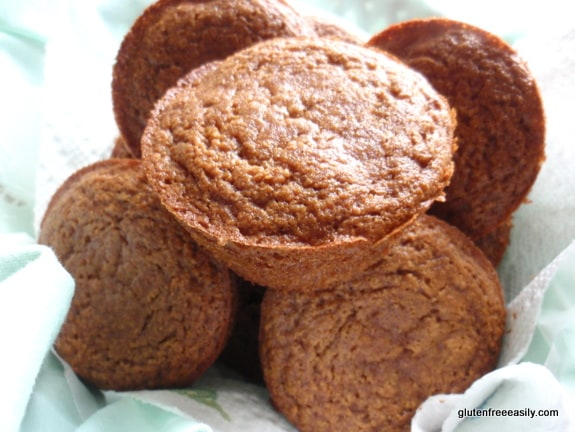 Applesauce Muffins from Gluten Free Easily