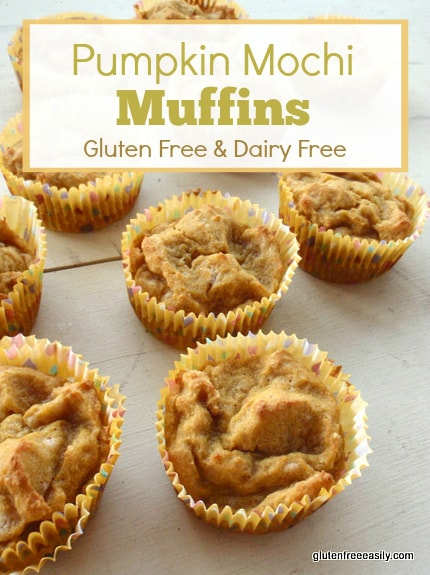 Pumpkin Mochi Muffins (Gluten Free, Dairy Free, Refined Sugar Free) at gfe--gluten free easily