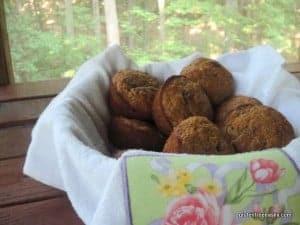 gluten-free banana muffins, banana chocolate chip muffins, gluten free, dairy free, egg free, vegan