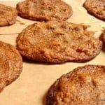 Flourless Banana Almond Butter Chocolate Chip Cookies