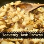 Heavenly Hash Browns from Gluten Free Easily. One of many fabulous Gluten-Free Mother's Day Brunch Recipes!