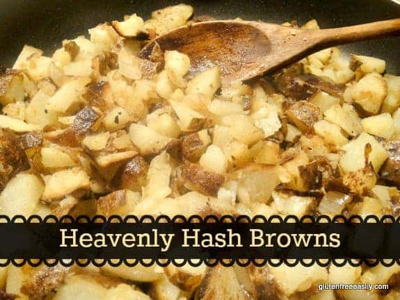 Simple Heavenly Hash Browns at Gluten Free Easily