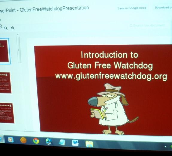 GFE, gluten-free, gluten free watchdog, Tricia Thompson