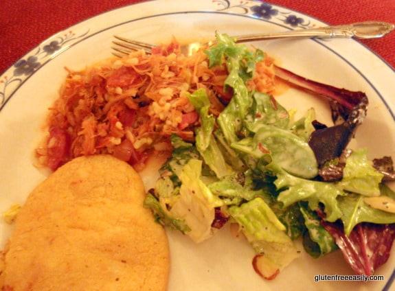 gluten free, dairy free, vegan, Brazilian Un-Cheese Rolls, Great Salad, Crockpot Jambalaya