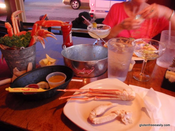 Spondivits, gluten free, seafood, Atlanta, steaks, eating out gluten free
