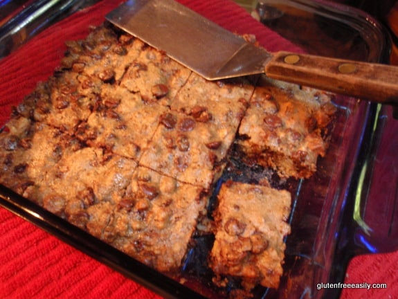 black magic bars, black walnut, chocolate chip, oat, gluten free, dairy free, easy
