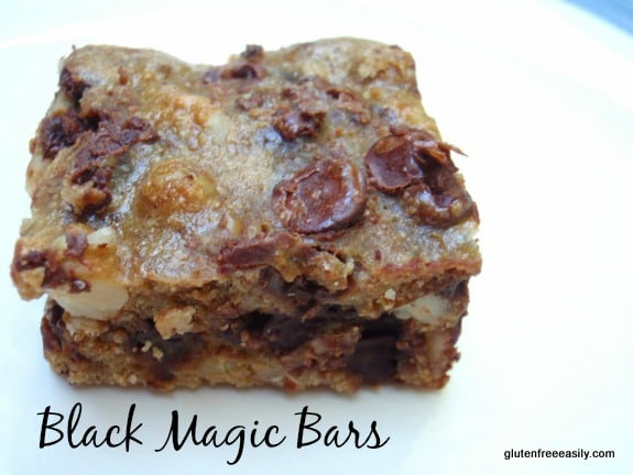 Black Magic Bars from Gluten Free Easily