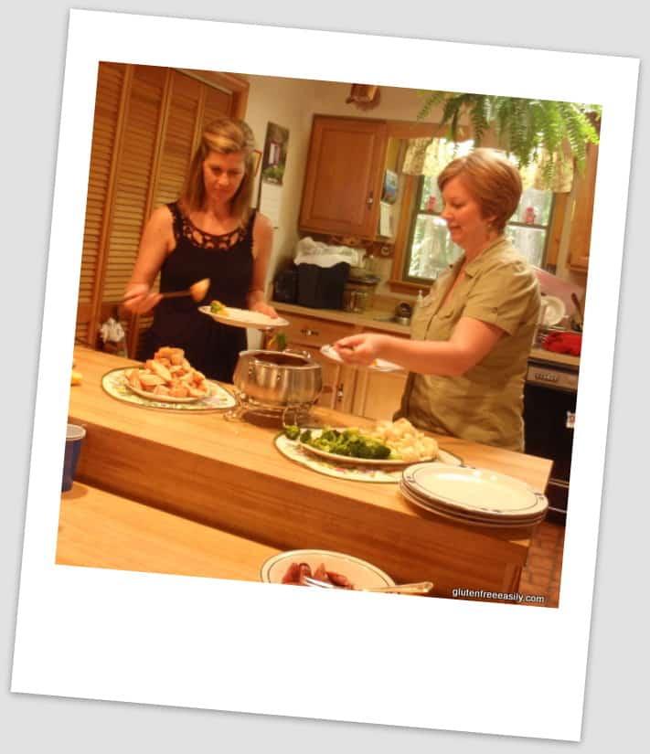 Gluten-Free Homemaker, Gluten-Free Cat, chedda, cheese fondue, gluten free, dairy free