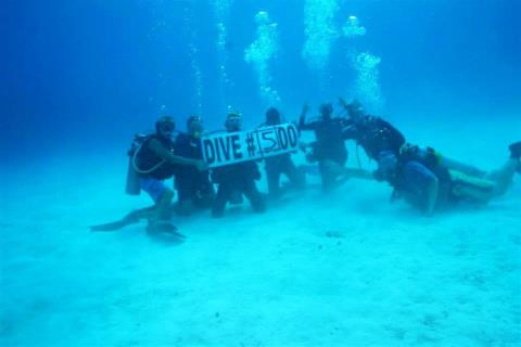 500 dives, milestone, Mr. GFE, Little Cayman Beach Resort