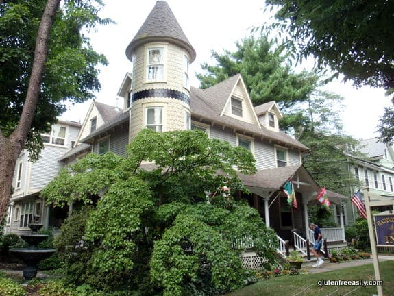 Haddonfield Inn and Pasta Pomodoro (and more)--Gluten-free accommodations and dining in south New Jersey.