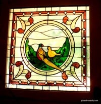 Haddonfield-Inn-Stained-Glass-Front-Door-Crest