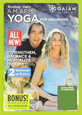 Self care with movement. Rodney Yee AM & PM Yoga.