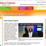 Children's National Medical Center, D.C., celiac, gluten free