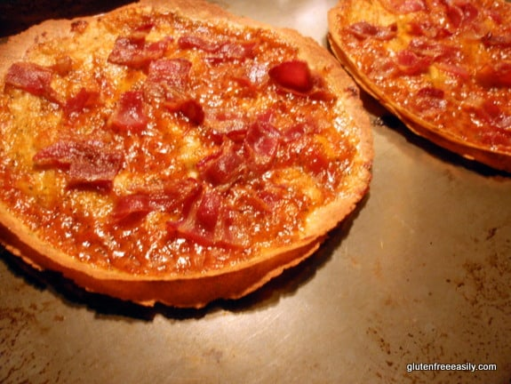 Easy Gluten-Free Tortilla Pizza at gfe--gluten free easily