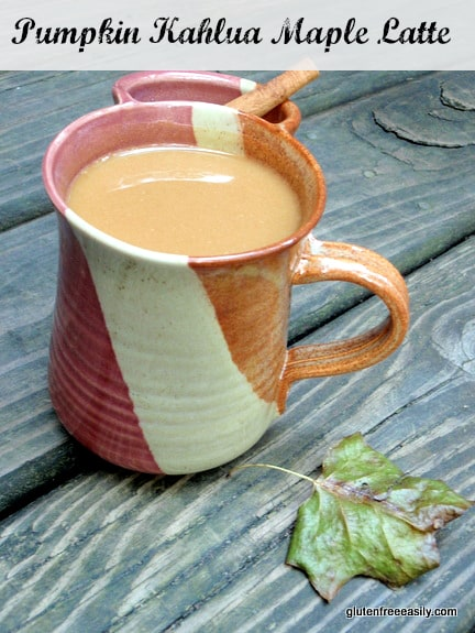 Pumpkin Kahlua Maple Latte Gluten Free Easily