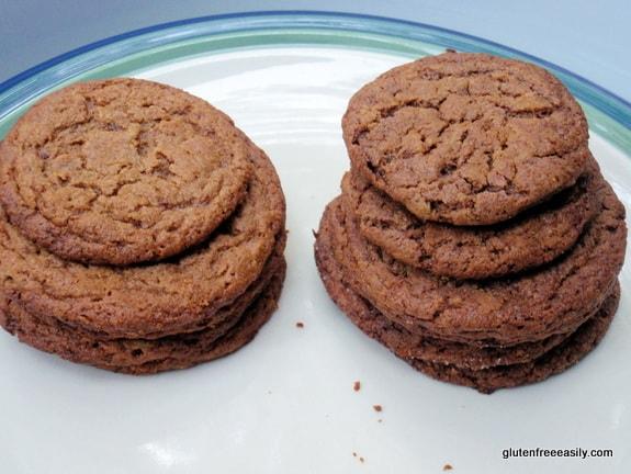 Flourless Peanut Butter (or Nut Butter/Sunbutter) Cookies Made with a Secret Ingredient!  Paleo, vegan.