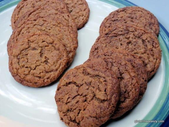 flourless, cookies, gluten free, dairy free, vegan, egg free, peanut butter, almond butter, avocado