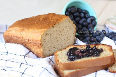 gluten free, grain free, bread, recipe, white sandwich bread, Against All Grain, Danielle