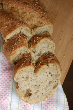 gluten free, dairy free, egg free, vegan, bread, recipe French Bread, Book of Yum, Sea