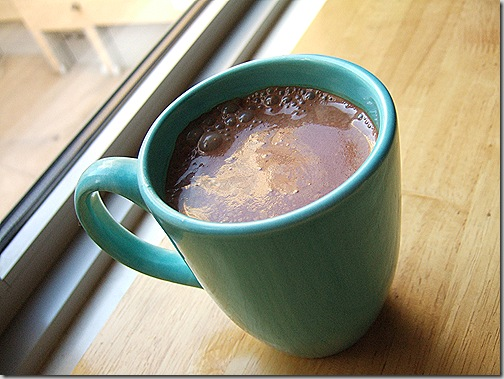 Spicy Hot Chocolate from City   Life   Eats