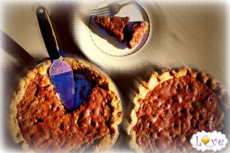 """Gluten-Free Chocolate Pecan """"Toll House"""" Pie from And Love It Too [featured on AllGlutenFreeDesserts.com]"""