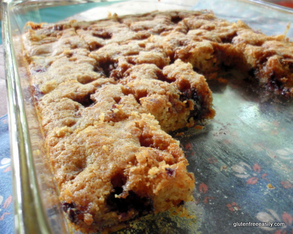 Gluten-Free Vegan Blueberry Banana Buckle