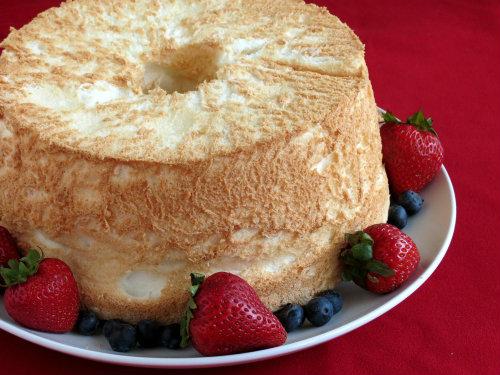 gluten free, dairy free, cake, angel food, The Gluten-Free Homemaker, Linda Etherton, fondue, lemon curd