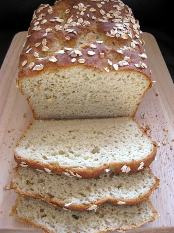 Gluten-Free Oatmeal Millet Bread. This recipe from Allergy-Free Alaska is one of the Top 20 Best Gluten-Free Bread Recipes. [featured on GlutenFreeEasily.com]